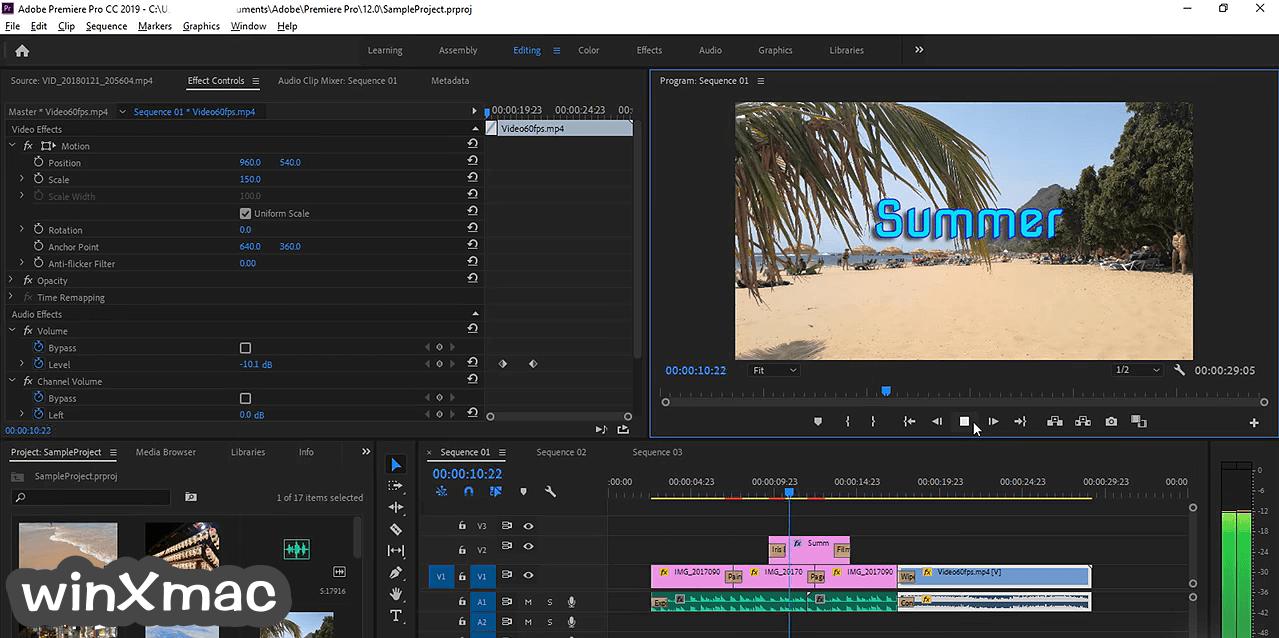 Adobe Premiere Pro Screenshot 1