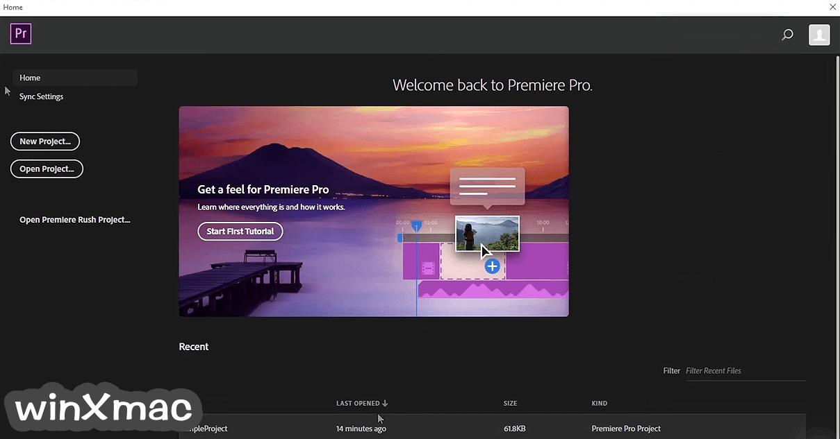 Adobe Premiere Pro Screenshot 2