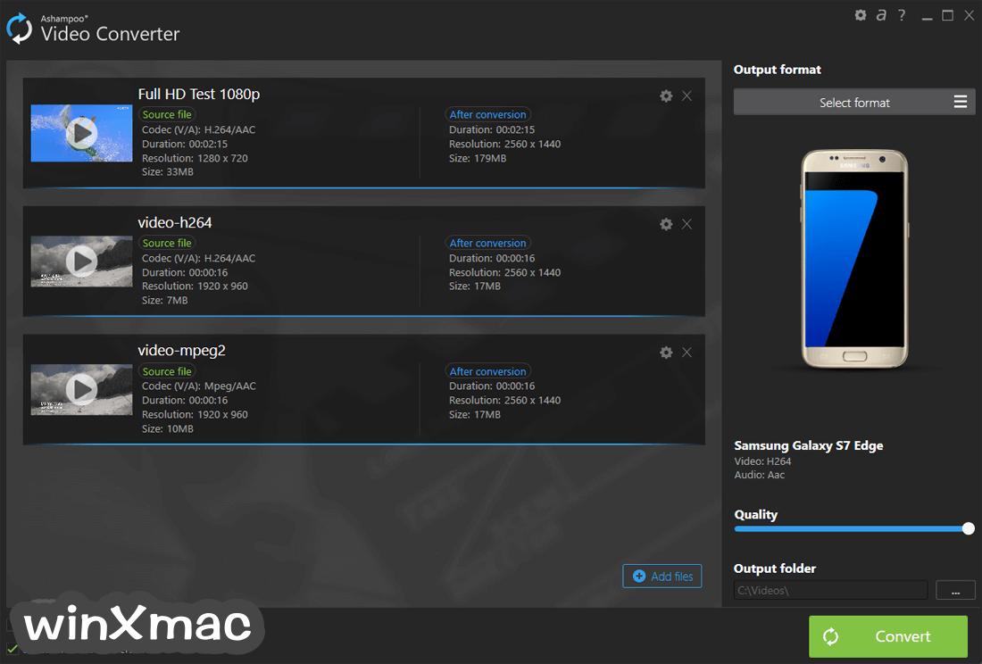 Ashampoo Video Converter Screenshot 1