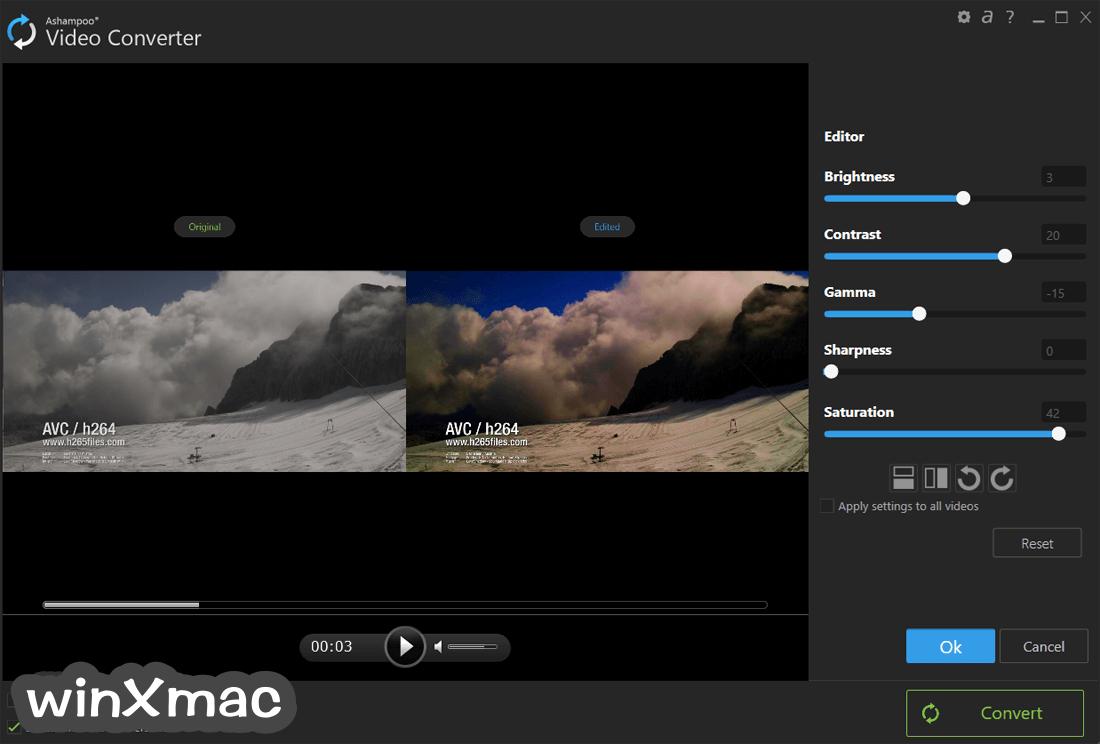 Ashampoo Video Converter Screenshot 2