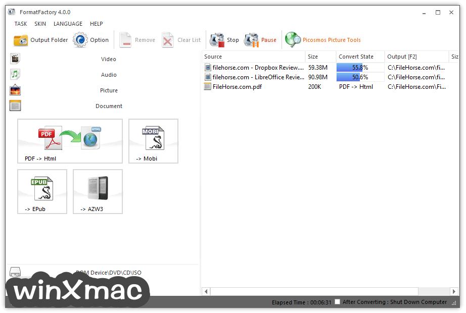 Format Factory Screenshot 4