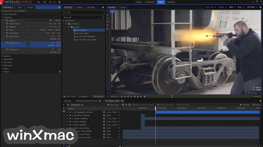 HitFilm Express Screenshot 1