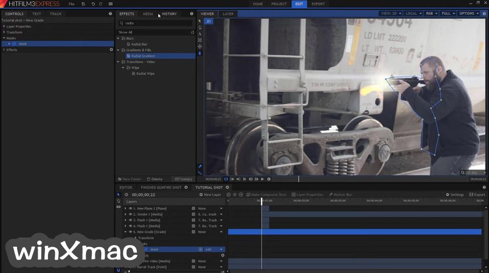HitFilm Express Screenshot 2