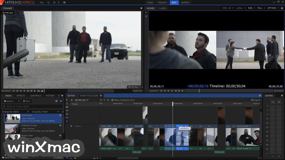 HitFilm Express Screenshot 3