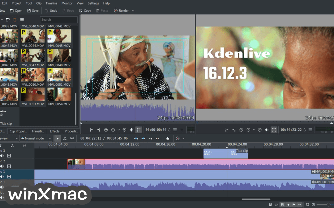 Kdenlive Screenshot 3