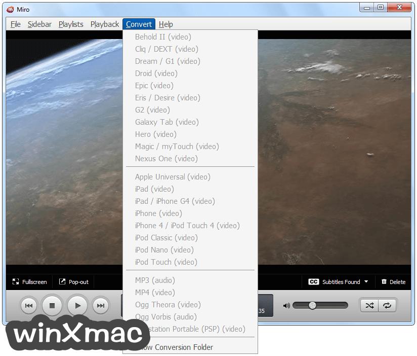 Miro Video Player Screenshot 3