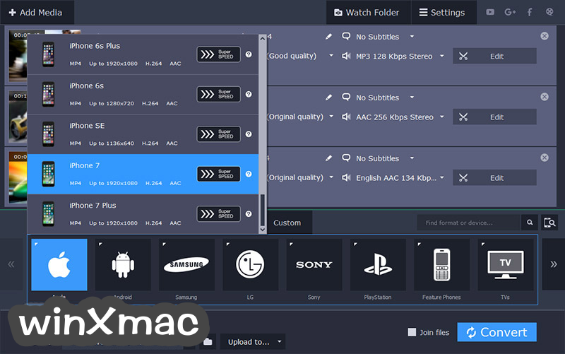 Movavi Video Converter Screenshot 3