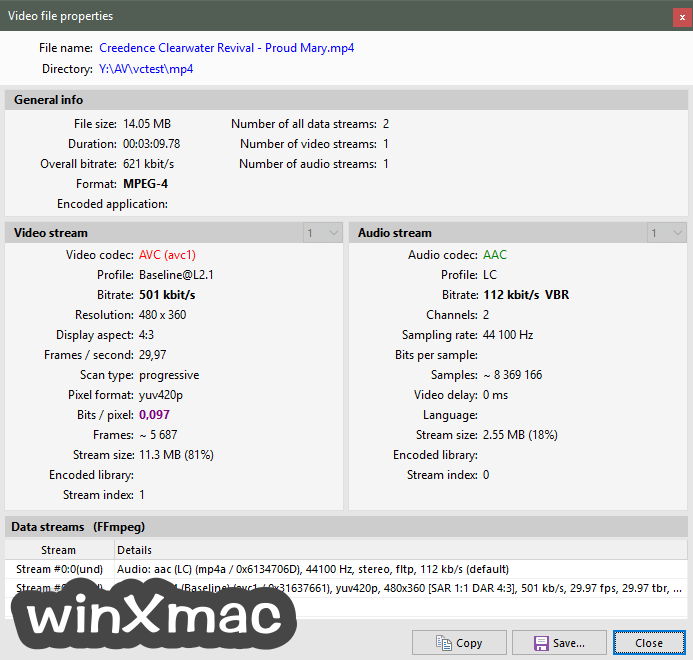 Pazera Free MP4 to AVI Converter Portable (64-bit) Screenshot 3