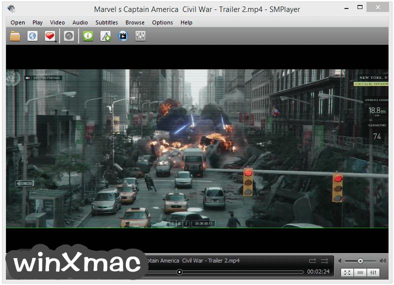SMPlayer (32-bit) Screenshot 1