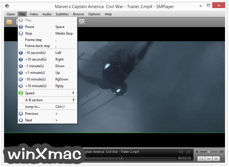 SMPlayer (32-bit) Screenshot 2