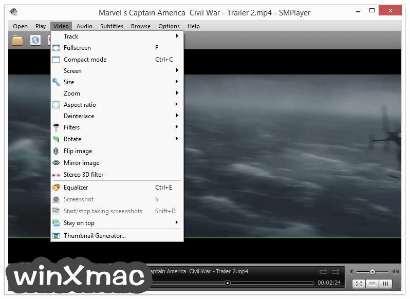 SMPlayer (32-bit) Screenshot 3