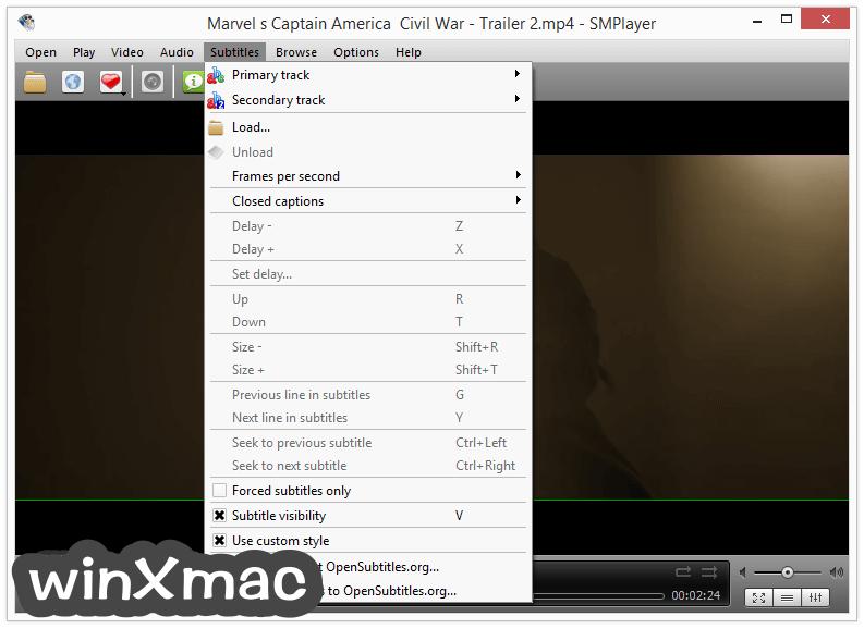 SMPlayer (32-bit) Screenshot 4