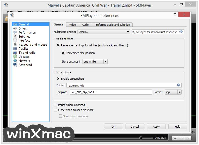 SMPlayer (32-bit) Screenshot 5